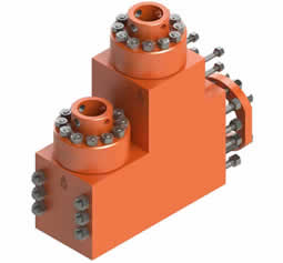 L-Shaped Mud Pump Fluid End Module
